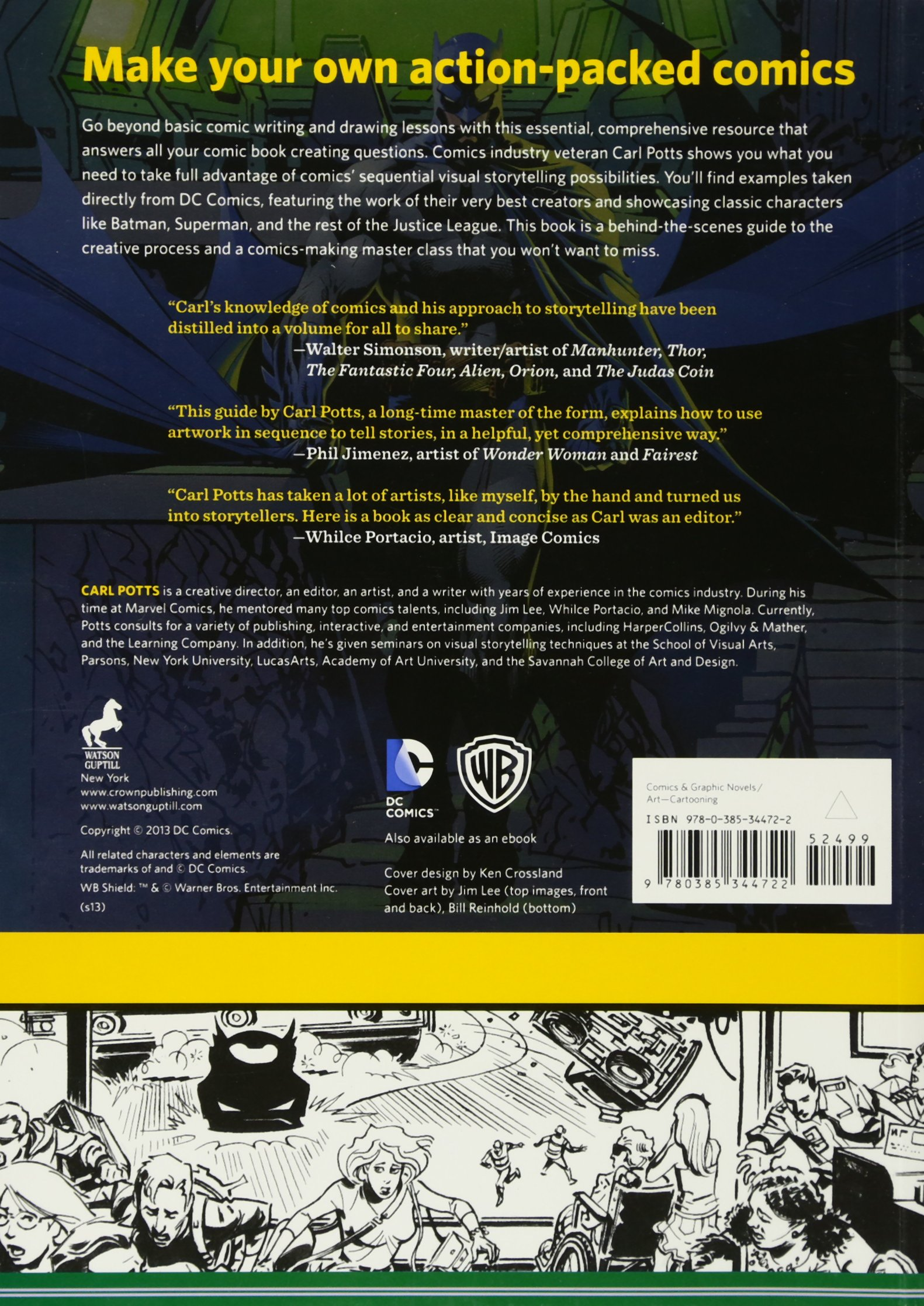 Amazon: The Dcics Guide To Creatingics: Inside The Art Of  Visual Storytelling (9780385344722): Carl Potts, Jim Lee: Books