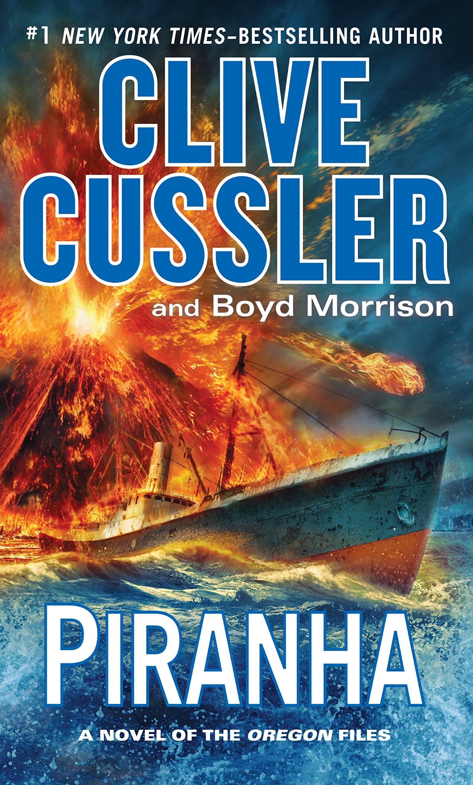 Piranha (A Novel of the Oregon Files) pdf