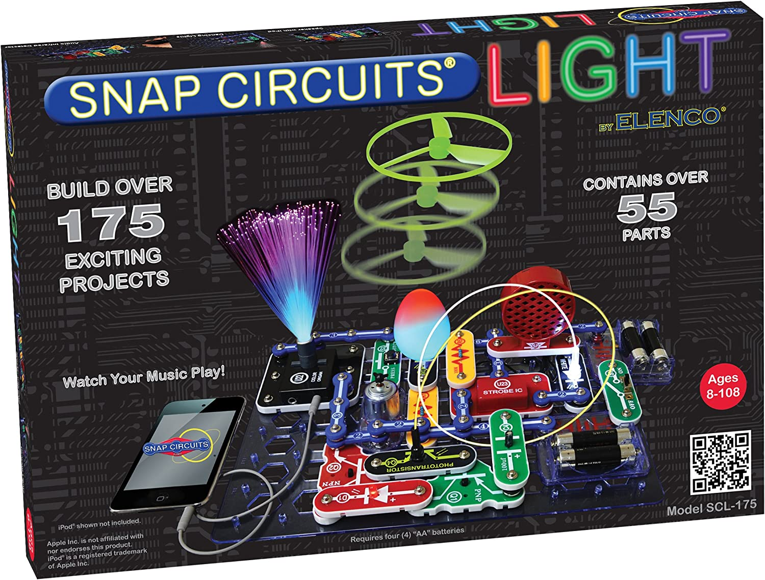 Snap Circuits LIGHT Electronics Exploration Kit