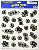 Bullet Holes Peel 'N Place Party Accessory (1 count) (24/Sh)