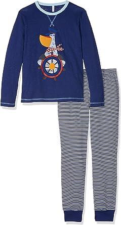 United Colors of Benetton Pyjama Set Longsleeve Pantalones de ...
