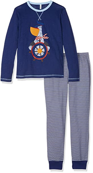 United Colors of Benetton Pyjama Set Longsleeve Pantalones de Pijama para Niños: Amazon.es: Ropa y accesorios