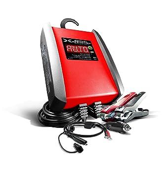 Amazon.com: SCHUMACHER SP6 6 V/12 V Cargador de batería ...