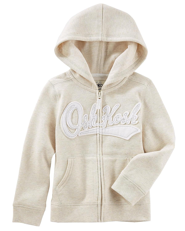 OshKosh B'Gosh Osh Kosh Baby Girls' Full Zip Logo Hoodie