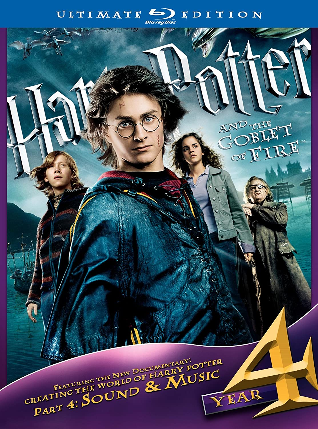 Harry Potter & Goblet of Fire [USA] [Blu-ray]: Amazon.es ...