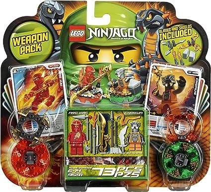 Amazon.com: Paquetes de armas 9591 de LEGO Ninjago.: Toys ...