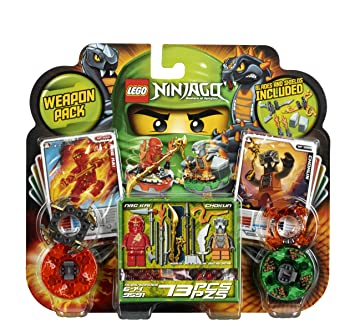 LEGO Ninjago Weapon Pack 9591 by LEGO [Toy] (English Manual ...