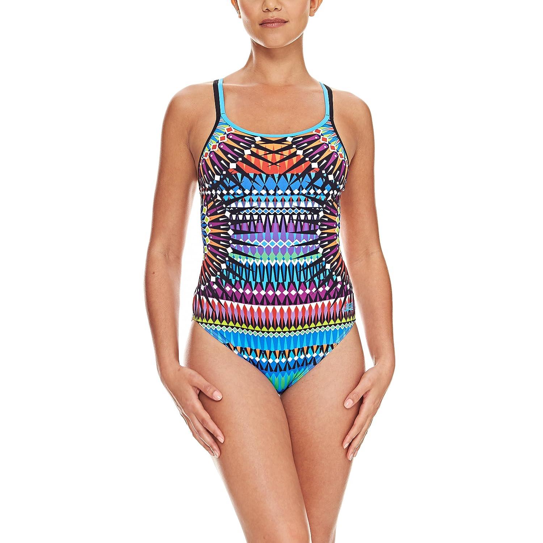 Zoggs Damen Amara twinback Schwimmen Anzug