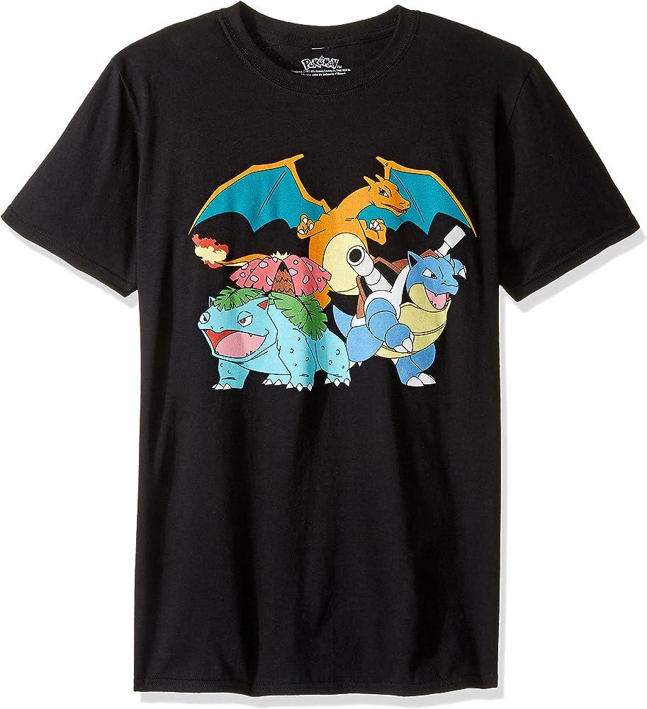 Charizard Pokemon Go T-shirt Kids Boys Pure Cotton Tee Short Sleeves Shirt Gift