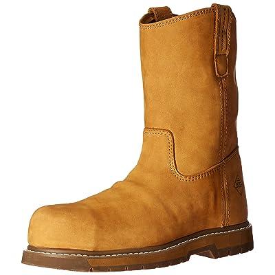 Amazon.com | Muck Boot Men's Wellie Classic Comp Toe Work Boot | Industrial & Construction Boots