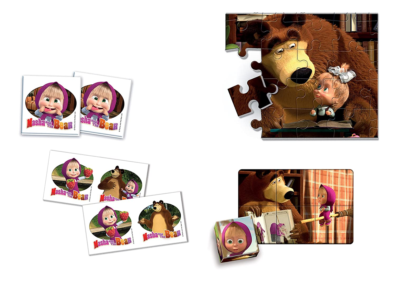 Juego educativo 4 en 1, con los personajes de la serie de dibujos animados PJ Mask: héroes en pijamas Llamarada multicolor: Amazon.es: Juguetes y juegos