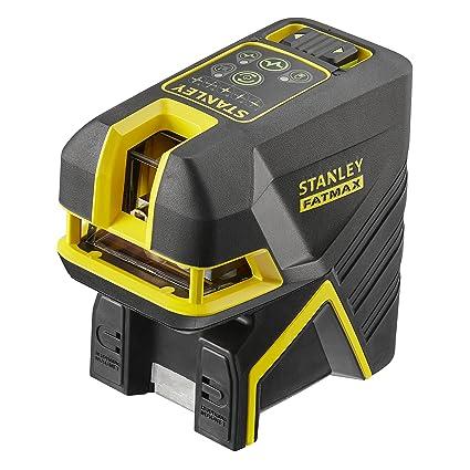 STANLEY FMHT1-77438 - Nivel laser de cruz + 2 puntos - Verde. 20
