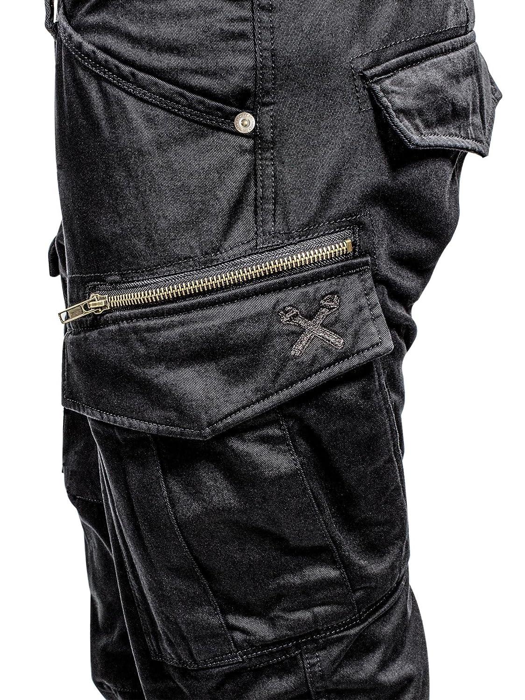John Doe Motorrad Hose Pants Stroker Camel-W38-L36-XTM