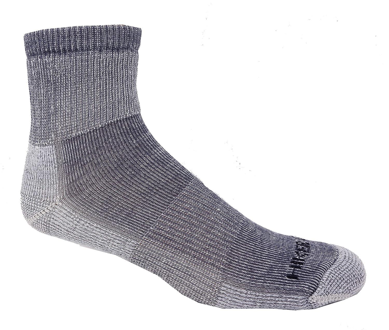 Super-Wool Hiker GX Low-Cut 1//4 Hiking Socks 3 Pairs