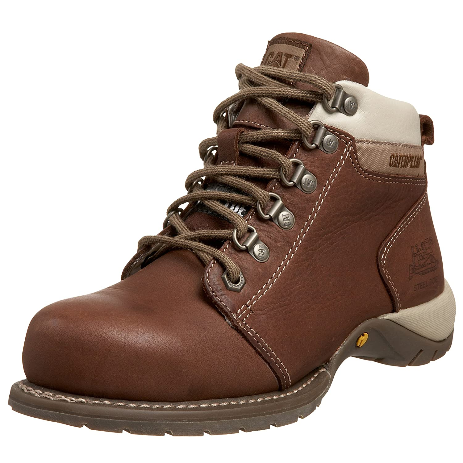 Amazon Com Caterpillar Women S Carlie Steel Toe Work Boot Shoes
