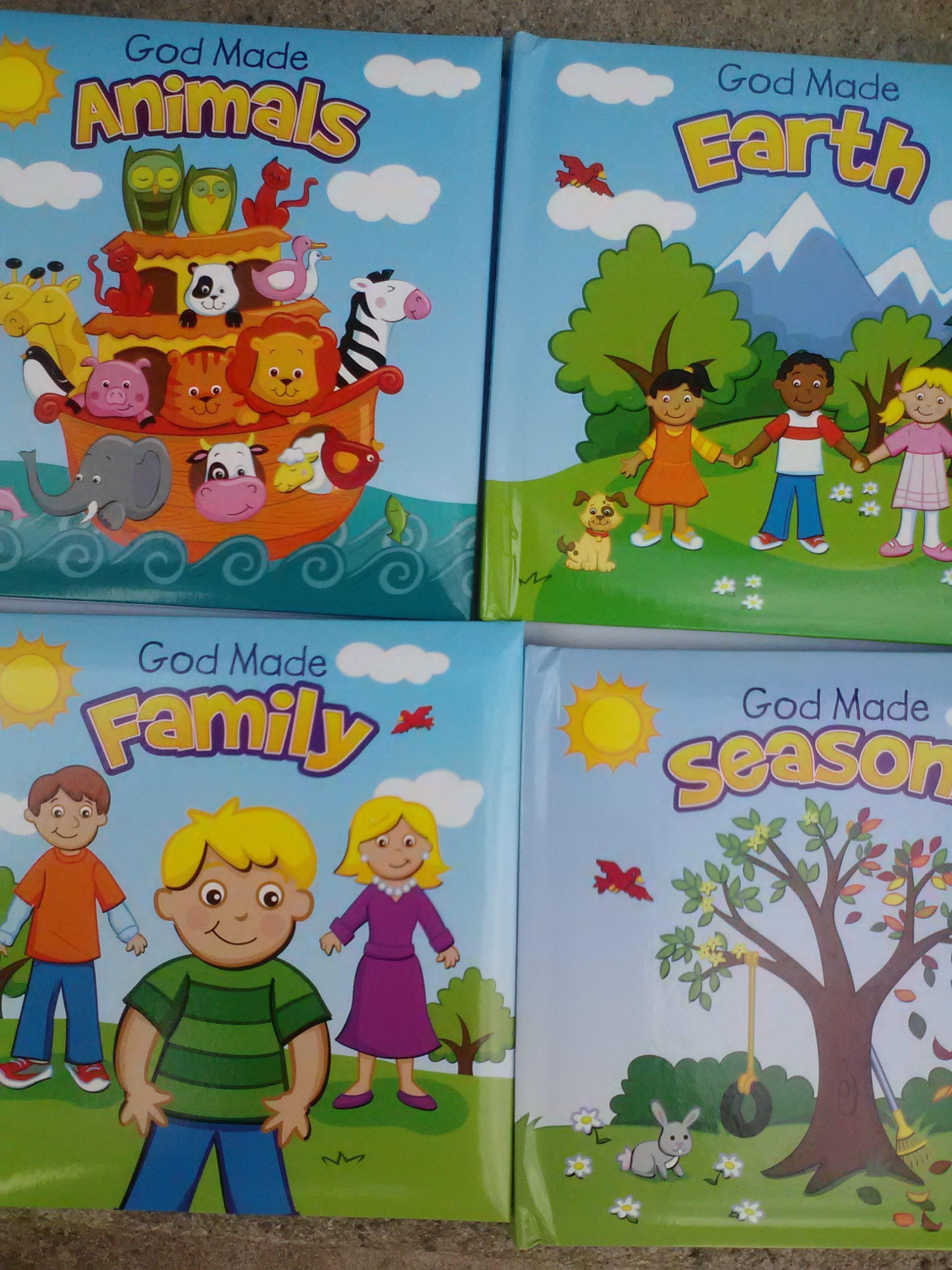 Read Online God Made Animals, Earth, Family & Seasons 4-Pack pdf