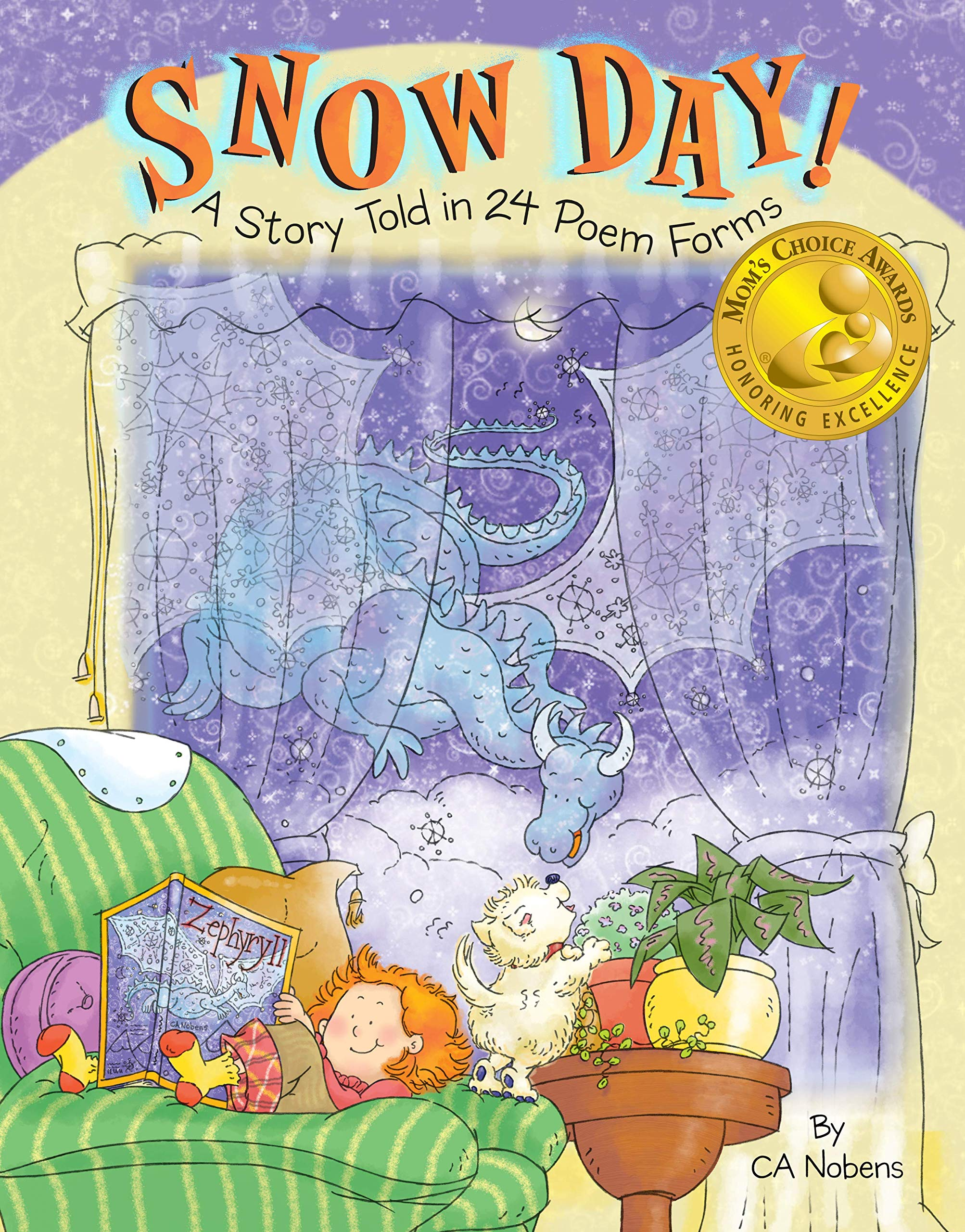 Download Snow Day!: A Story Told in 24 Poem Forms pdf epub