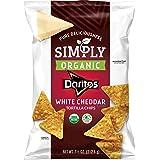 Simply Organic Doritos White Cheddar Flavored Tortilla Chips, 7.5 Ounce
