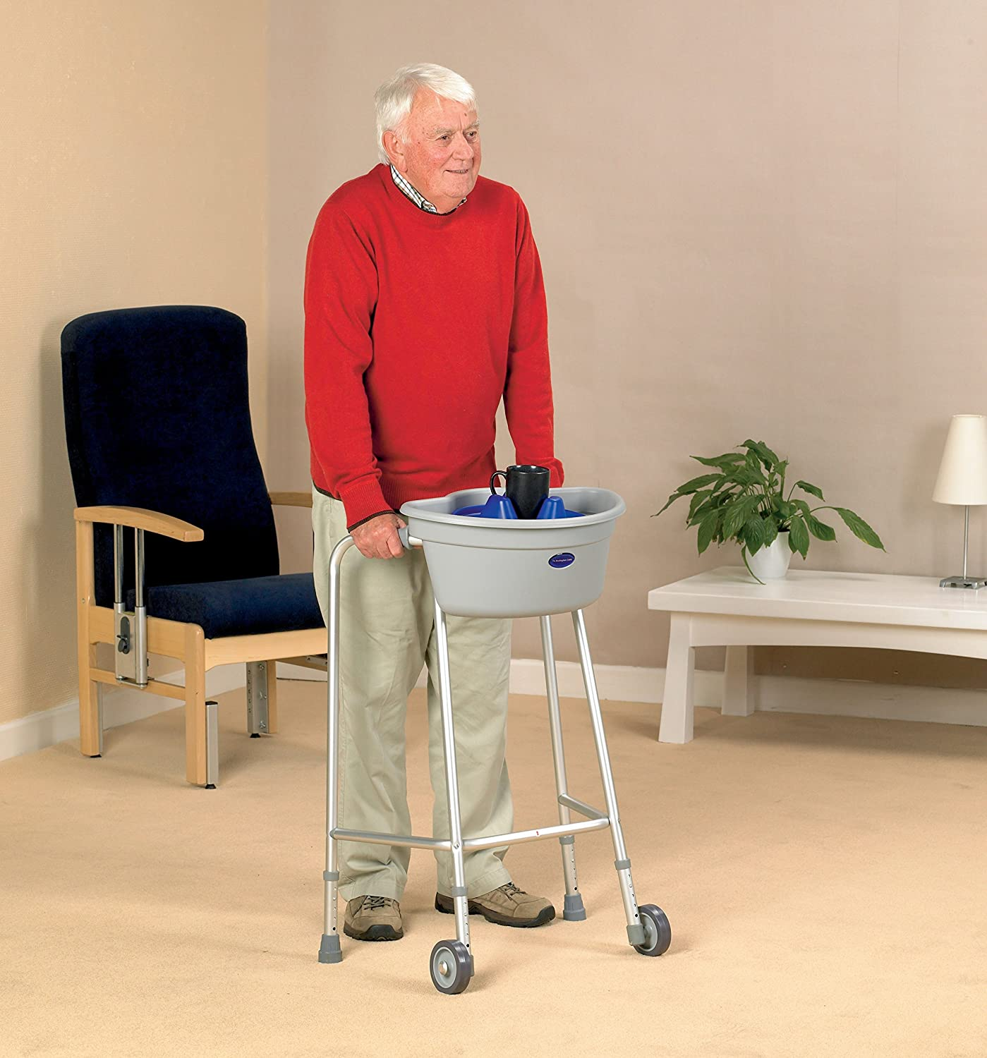 buckingham walking frame caddy amazoncouk health personal care - Zimmer Frame