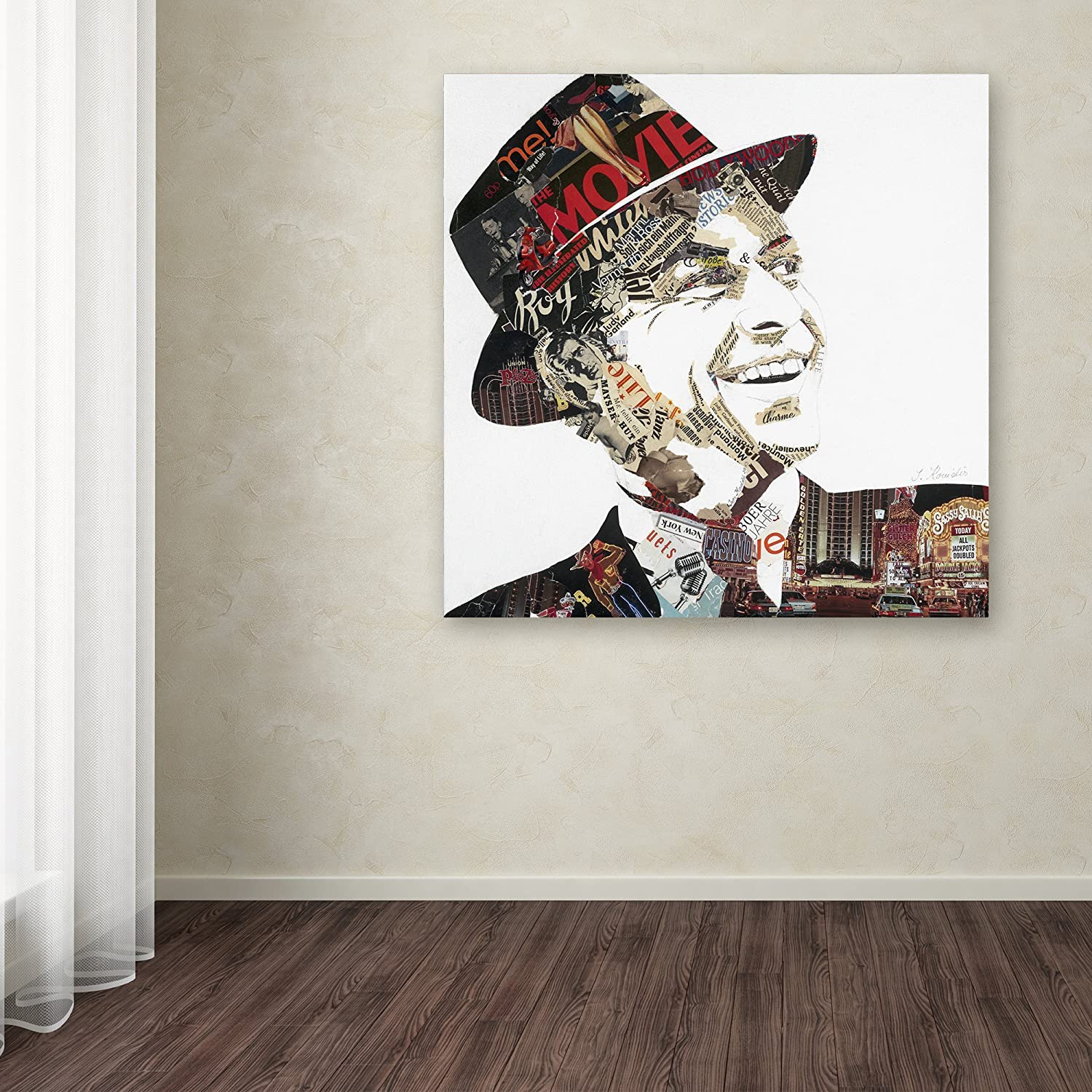 Franky by Ines Kouidis Wall Decor, 14 by 14 Canvas Wall Art