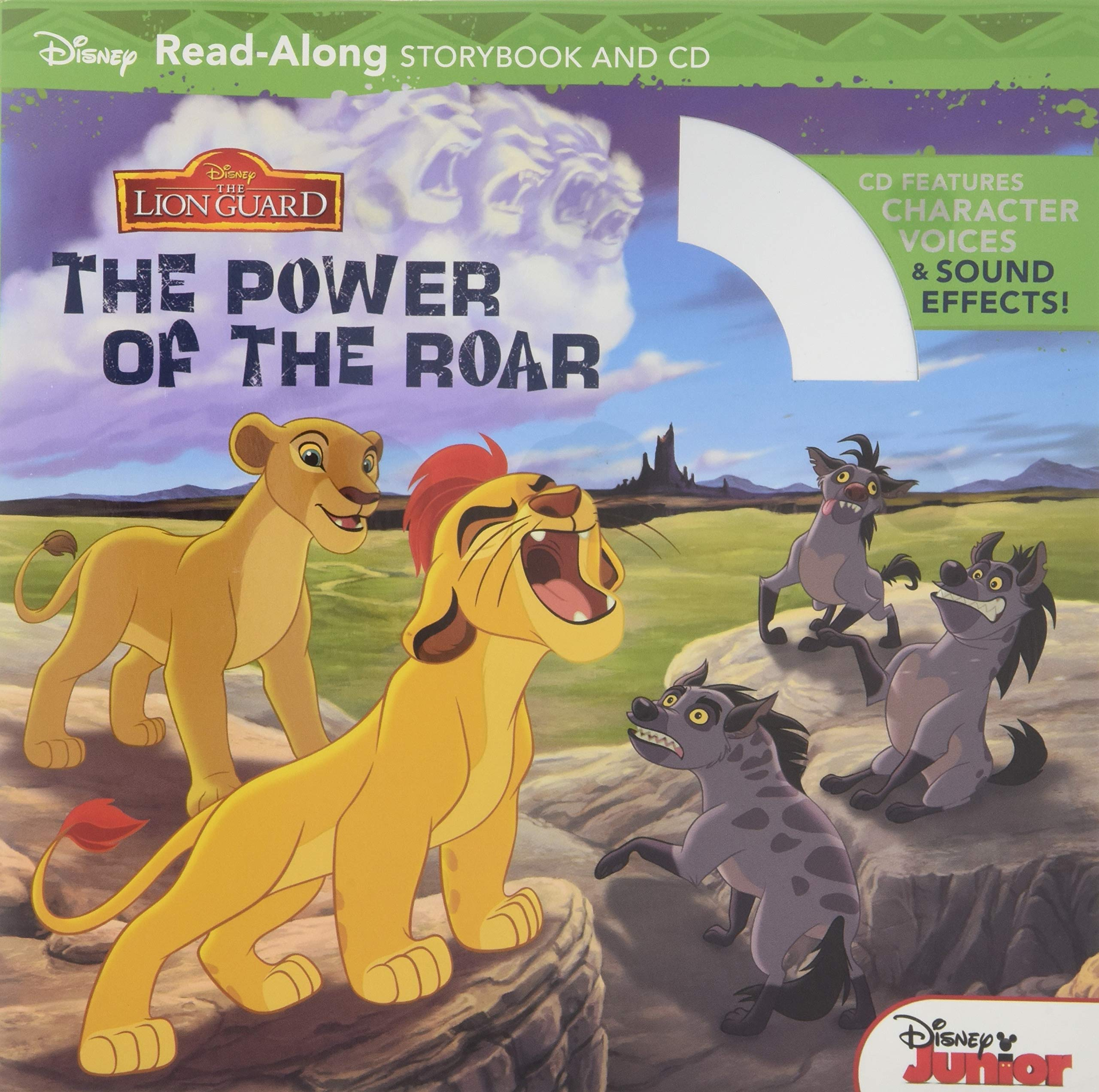 The Lion Guard Read Along Storybook And Cd The Power Of The