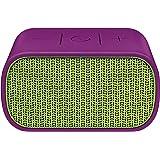 UE MINI BOOM - Altavoz portátil de 3W (Bluetooth, NFC, USB, 3.5 mm), color morado y amarillo