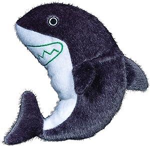 Spunky Pup Sea Plush Shark Dog Toy
