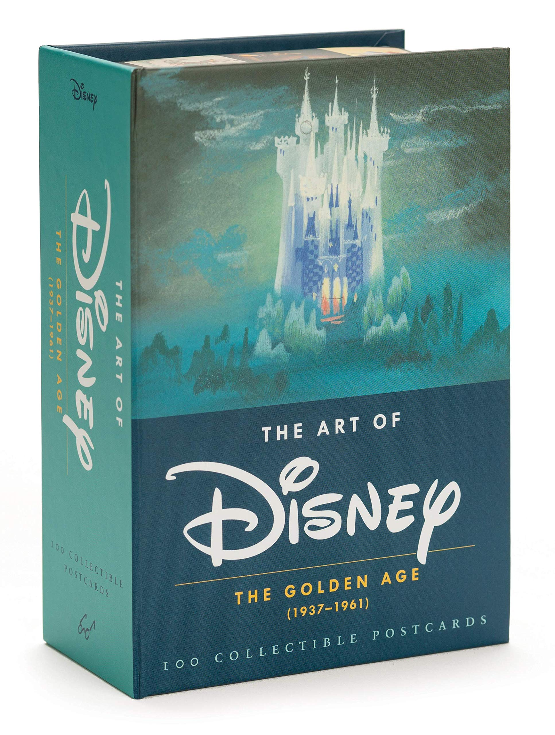 The Art Of Disney The Golden Age 1928 1961 Postcards Amazonde