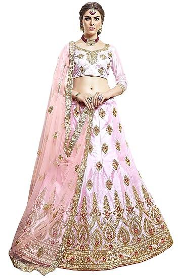 04b76cbb0f1 MANVAA Women s Silk Embroidered Lehenga Choli (MHY29703