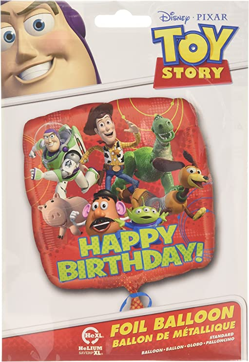 Amazon.com: Anagram Internacional HX Toy Story Gang Feliz ...