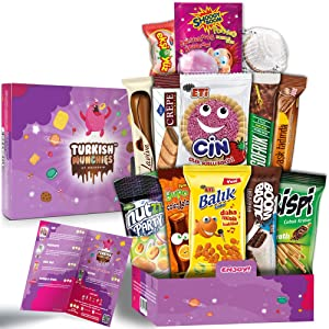 Midi Fantastic Premium International Snacks Variety Pack Care Package for Adults and Kids, Ultimate Assortment of Turkish Treats, Mix variety pack of snacks, Best Foreign Candy or Foreign Snacks Box