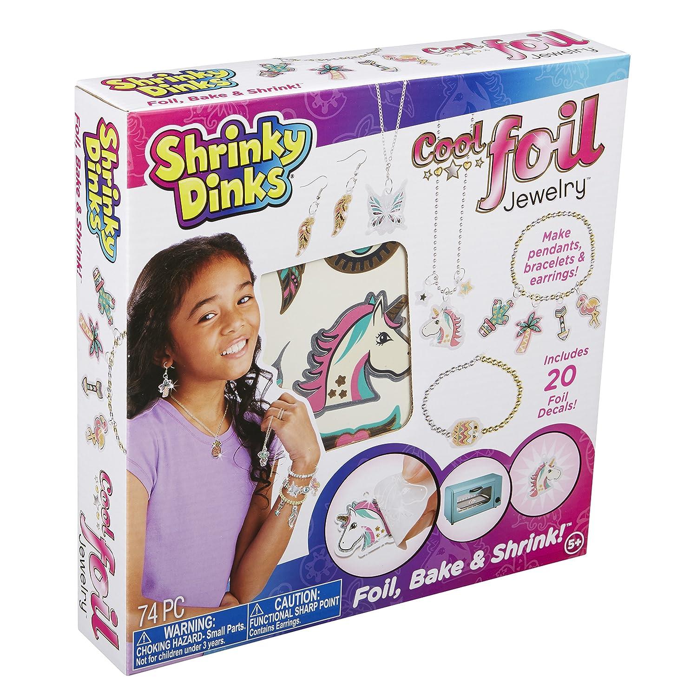 Shrinky Dinks Cool Foil Jewelry, Silver