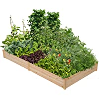 YAHEETECH Wood Raised Garden Bed Boxes Kit
