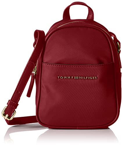 0d5991ef Tommy Hilfiger Juliette Nylon Backpack Crossbody, Cabernet: Amazon ...