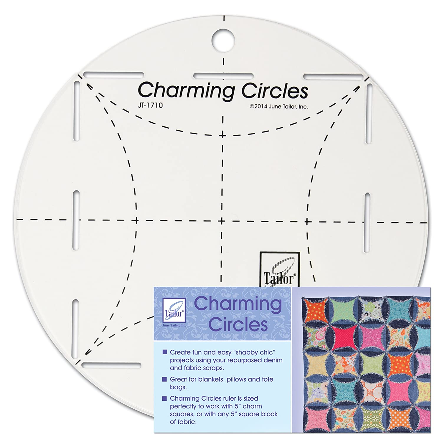 June Tailor Charming Circles Ruler June Tailor Inc JT-1710