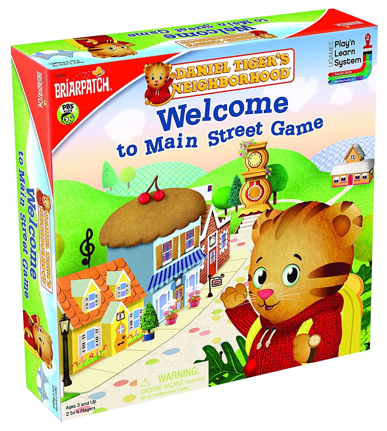 Daniel Tiger's Welcome to Mainstreet Game University Games 01350