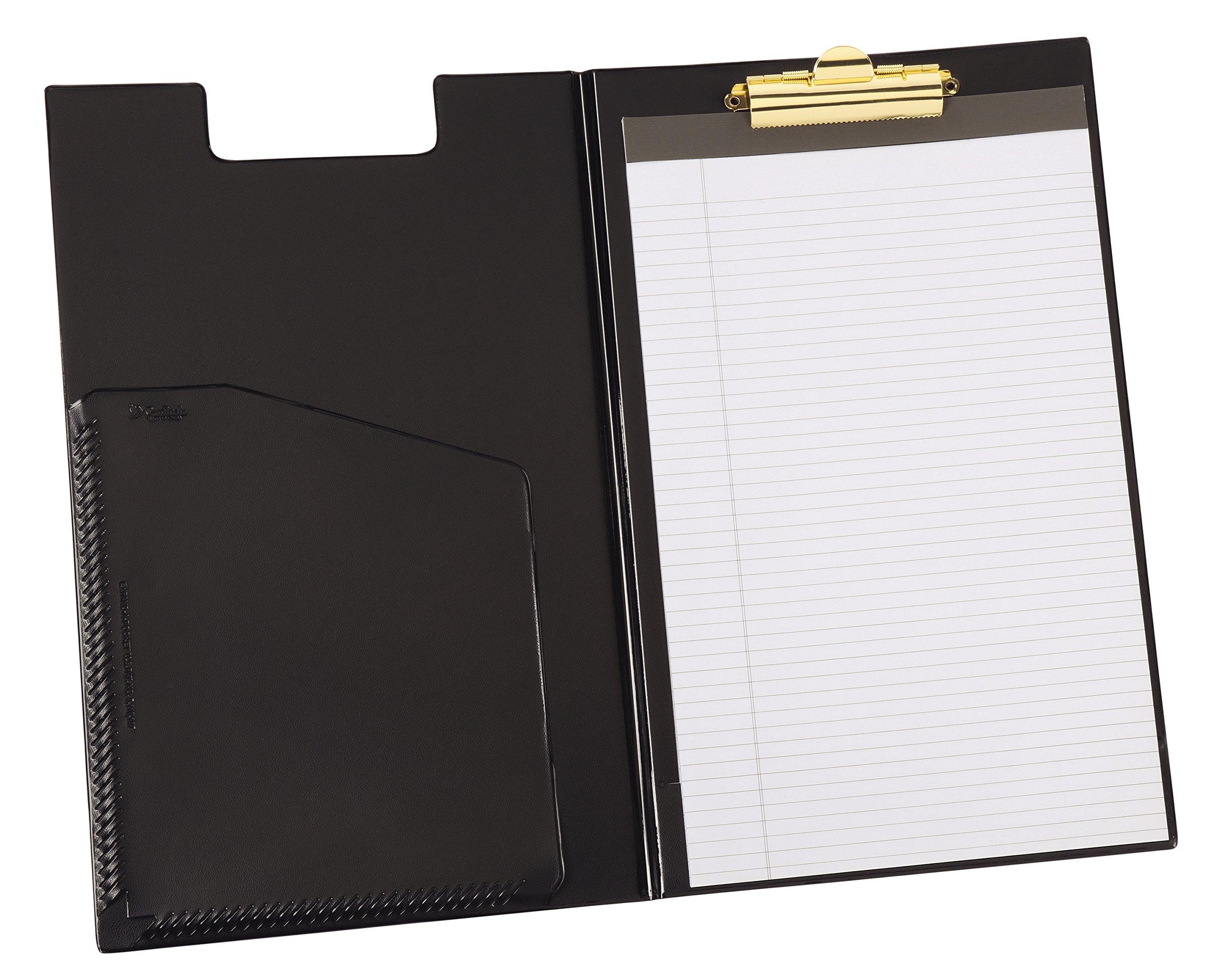 Cardinal Clip Folder Pad Holder, Legal Size, Includes Writing Pad, Black (253 610)