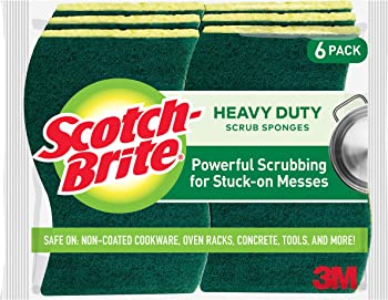6-Pack Scotch-Brite Heavy Duty Scrub Sponges