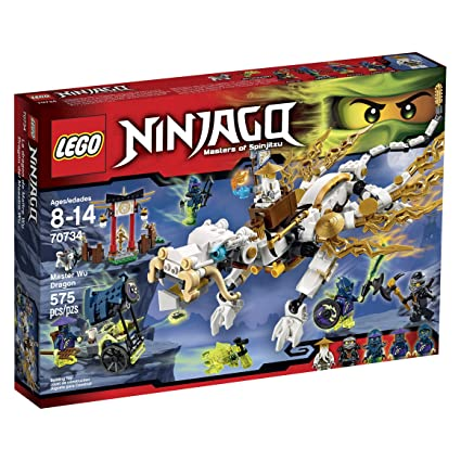 Amazon.com: LEGO Ninjago 70734 Master WU Dragon Ninja Building Kit ...