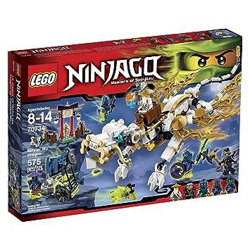 LEGO Ninjago 70734 Master WU Dragon Ninja Building Kit by ...