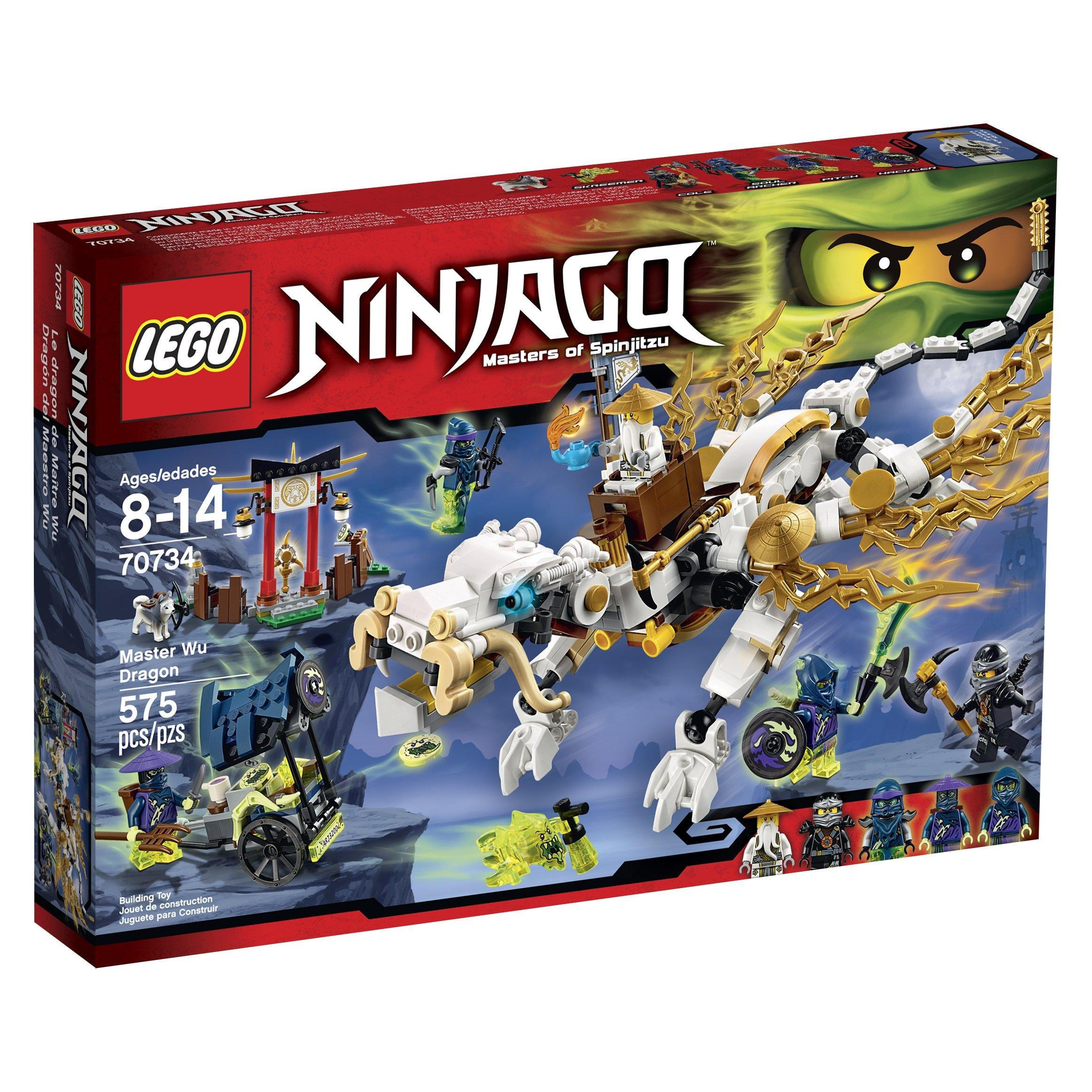 Lego Ninjago 70734 Master Wu Dragon Tiendamiacom