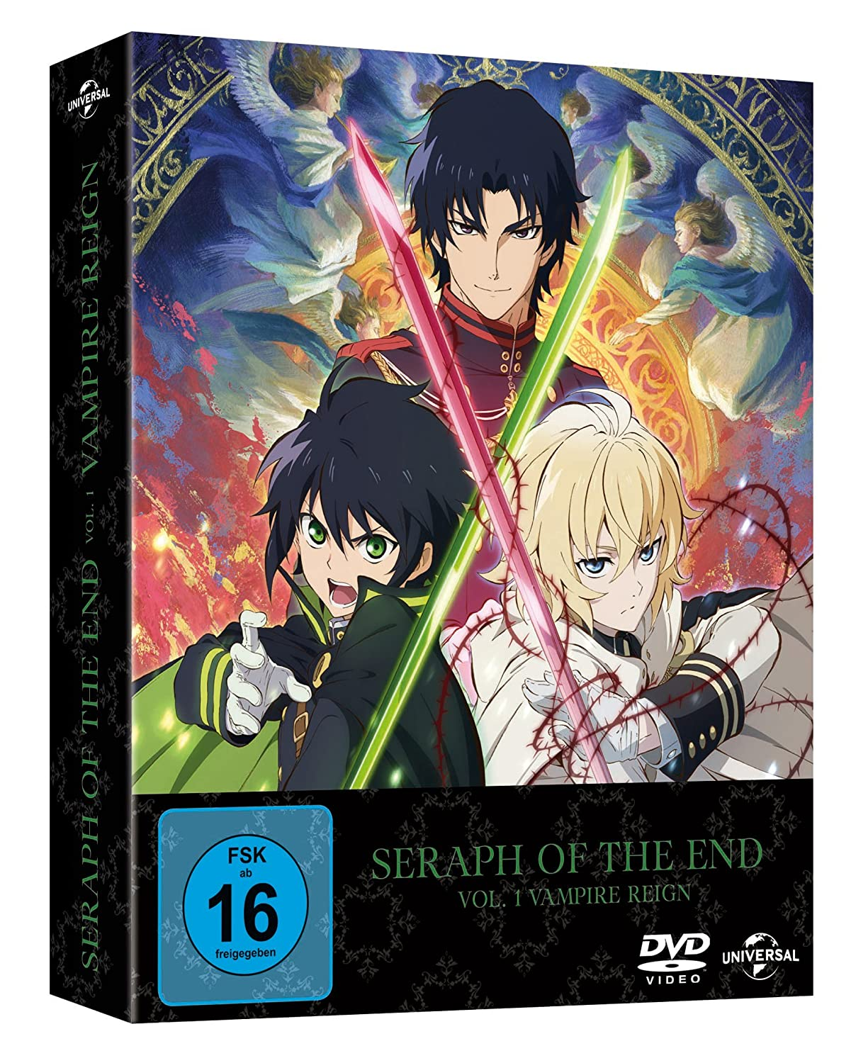 Seraph Of The End Vampire Reign Ep 1 12 Vol 1 Limited