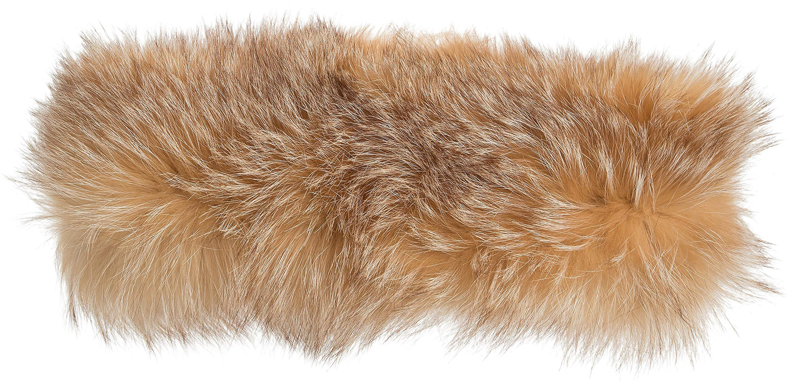 Finnish Fox Fur Convertible Headband and Neck Warmer