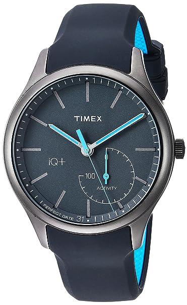 Timex Men's IQ+ Move Activity Tracker Silicone Strap Watch Men at amazon