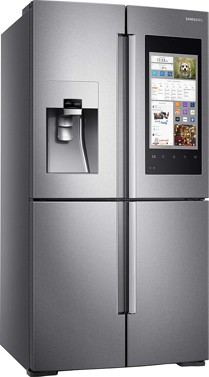 Samsung RF56M9540SR Built-in 550L A+ Stainless steel side-by-side refrigerator - Side-By-Side Fridge-Freezers (Built-in, Stainless steel, French door, LED, Door-on-door, Touch) RF56M9540SR/EF