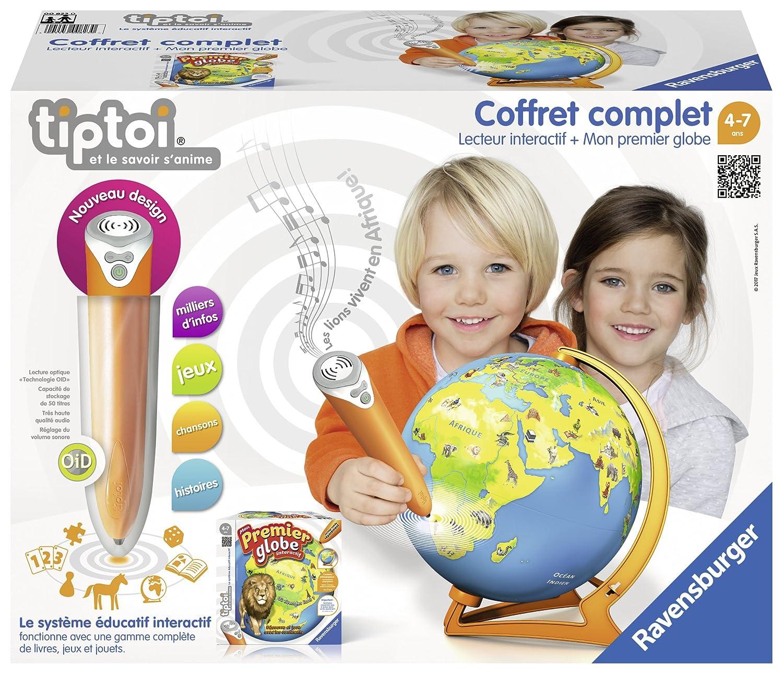 Ravensburger &Ndash; 00823 – Coffret Player + Mein Erster Globe tiptoi