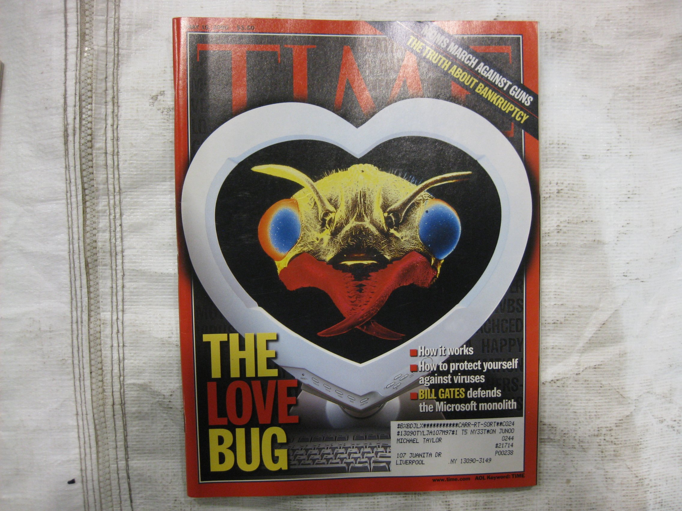 Download Time Magazine May 15 2000 The Love Bug: How to Get Rid of viruses * Moms March Against Guns * The Truth About Bankrupcy PDF