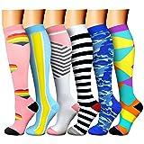 CHARMKING Compression Socks,15-20 mmHg is Best