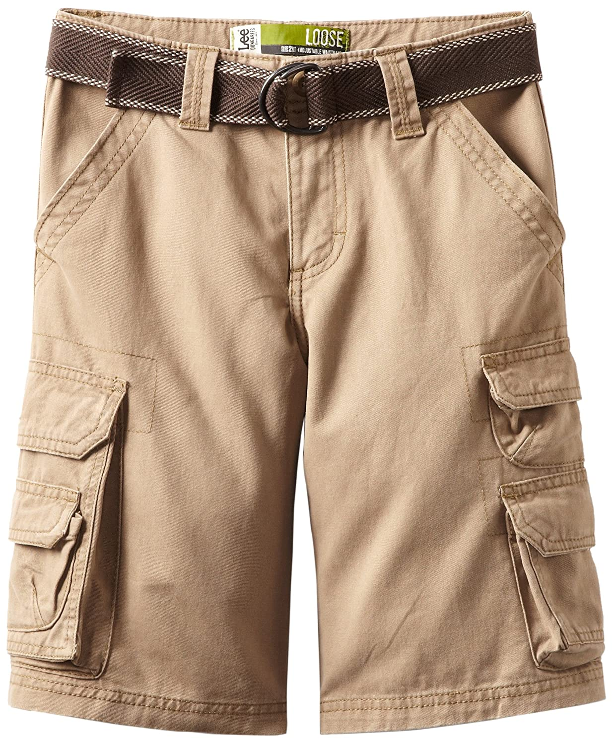LEE Boys' Dungarees Belted Wyoming Cargo Short, Lee Children's Apparel 1389600
