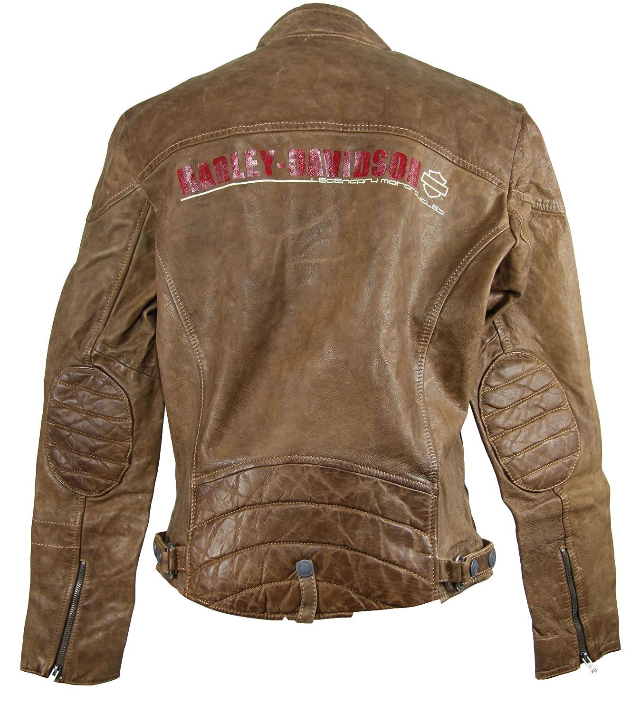 Harley-Davidson - Chaqueta - para hombre Marrón marrón small ...